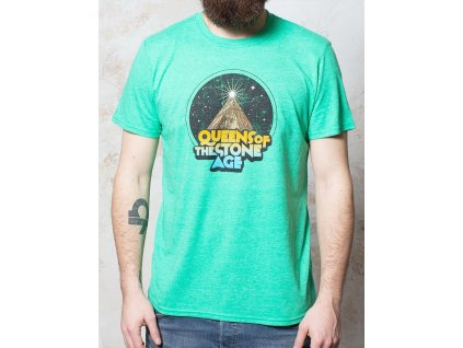 Pánske tričko Queens of the Stone Age Space Mountain (Veľkosť XXL)