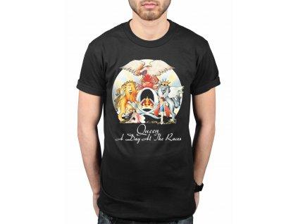 Pánske tričko Queen A Day At The Races (Veľkosť XL)