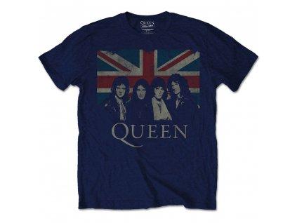 Pánske tričko Queen Union Jack (Veľkosť XL)