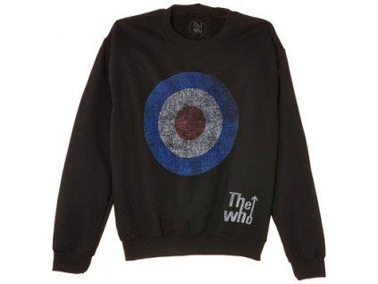 Pánska mikina The Who Target Distressed (Veľkosť XXL)