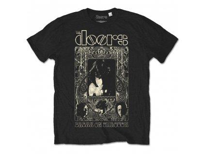 Pánske tričko The Doors Nouveau (Veľkosť XXL)