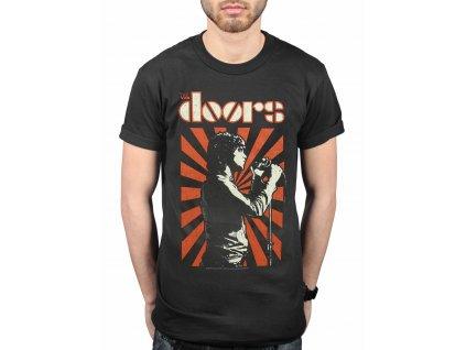 Pánske tričko The Doors Lizard King (Veľkosť XXL)