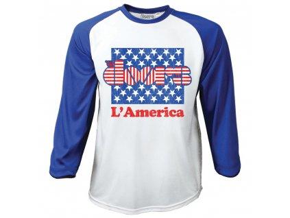 Pánske tričko s dlhým rukávom The Doors (Veľkosť XXL)