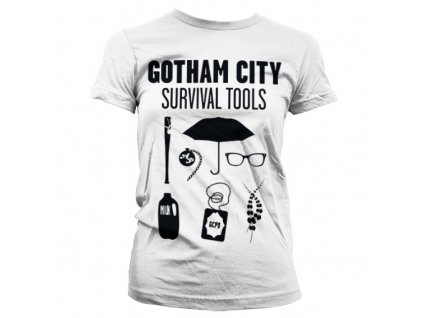 Gotham Survival Tools Girly T-Shirt