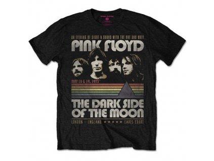 Pánske tričko Pink Floyd Vintage Stripes (Veľkosť XXL)