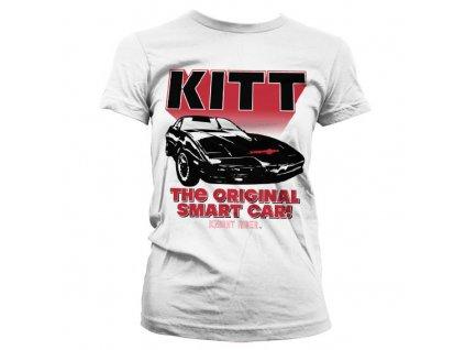 Knight Rider - KITT The Original Smart Car Girly T-Shirt