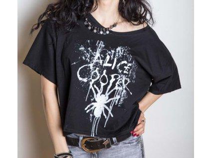 Dámske tričko ALICE COOPER SPIDER (Veľkosť XL)