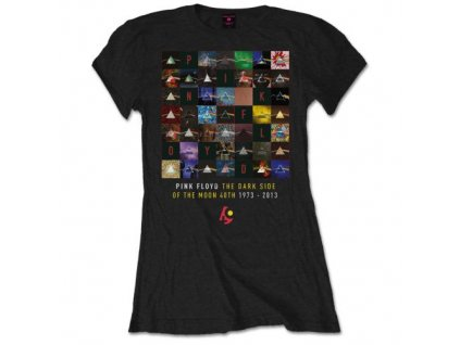 Dámske tričko Pink Floyd Moon (Veľkosť XL)