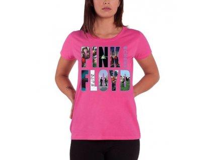 Dámske tričko Pink Floyd Echoes Album Montage (Veľkosť XL)