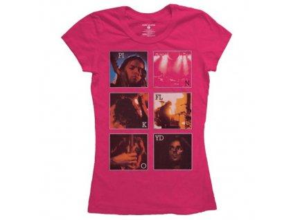Dámske tričko Pink Floyd Live Poster (Veľkosť XL)