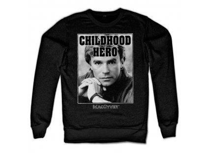 Pánska mikina Macgyver Childhood Hero