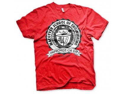 Macgyver School Of Engineering T-Shirt