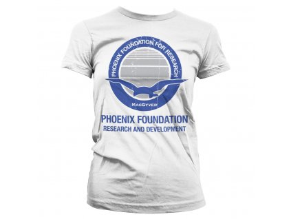 Macgyver - Phoenix Foundation Girly Tee