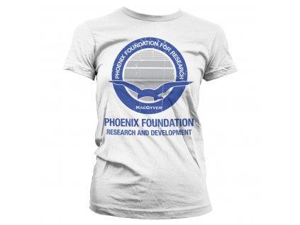 Dámske tričko Macgyver Phoenix Foundation