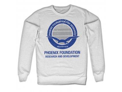 Pánska mikina Macgyver Phoenix Foundation
