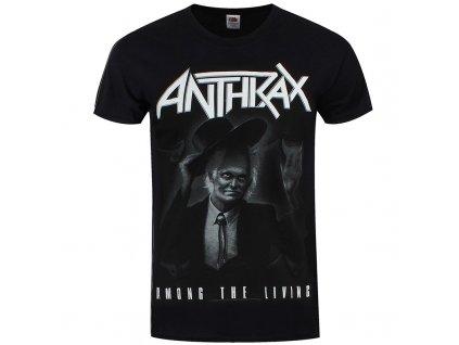 Pánske tričko Anthrax Among the Living (Veľkosť XXL)