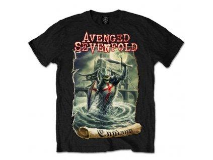 Pánske tričko Avenged Sevenfold England (Veľkosť XXL)