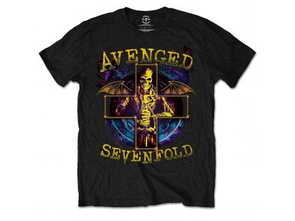 Pánske tričko Avenged Sevenfold Stellar (Veľkosť XXL)