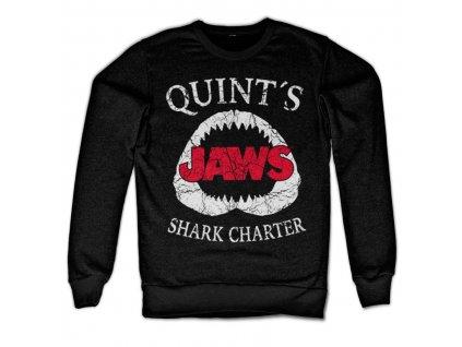 Pánska mikina Jaws Quint´s Shark Charter