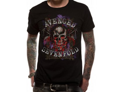 Pánske tričko Avenged Sevenfold Classic (Veľkosť XXL)