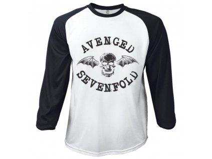 Pánske tričko s dlhým rukávom Avenged Sevenfold (Veľkosť XXL)