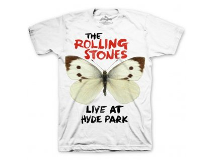 Pánske tričko The Rolling Stones BUTTERFLY HYDE PARK (Veľkosť XXL)