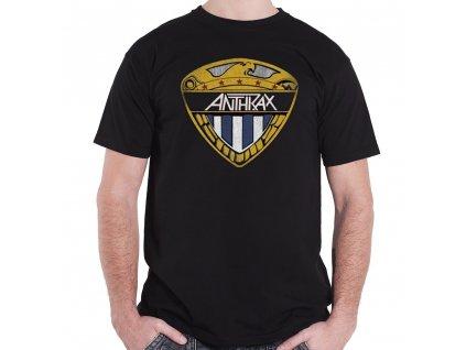 Pánske tričko Anthrax Shield (Veľkosť XL)