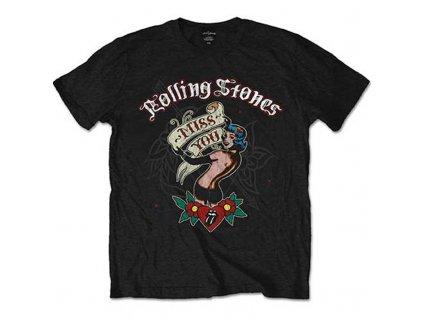 Pánske tričko The Rolling Stones Miss You (Veľkosť XXL)
