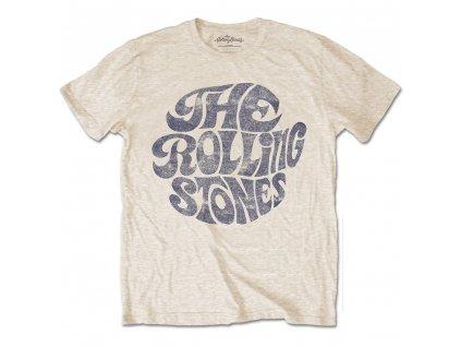 Pánske tričko The Rolling Stones Vintage 70's Logo (Veľkosť XXL)