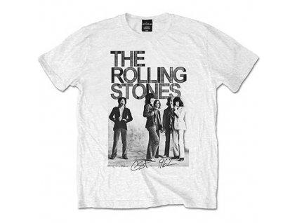 Pánske tričko The Rolling Stones 1962 Group (Veľkosť XXL)