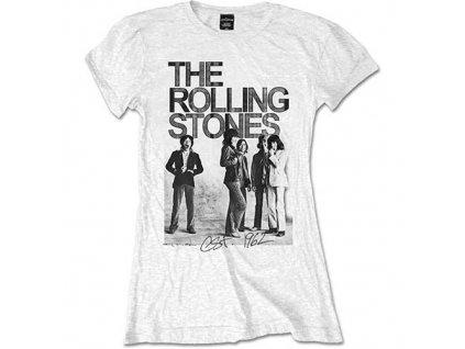 Dámske tričko The Rolling Stones 1962 Group (Veľkosť XL)