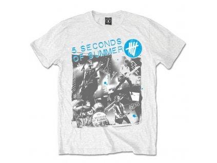 Pánske tričko 5 Seconds of Summer (Veľkosť XXL)