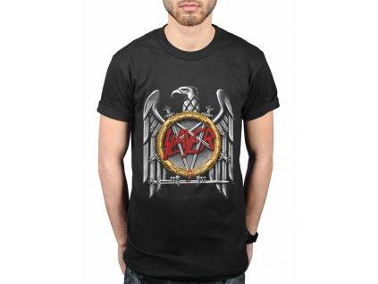 Pánske tričko Slayer Contrast Eagle (Veľkosť XXL)