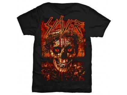 Pánske tričko Slayer Crowned Skull (Veľkosť XXL)