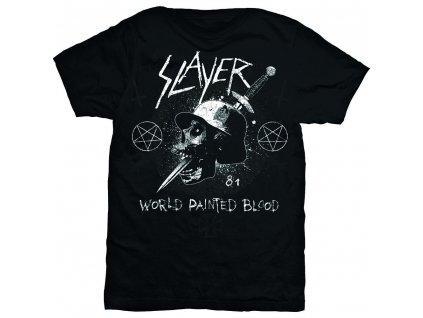 Pánske tričko Slayer Dagger Skull (Veľkosť XXL)