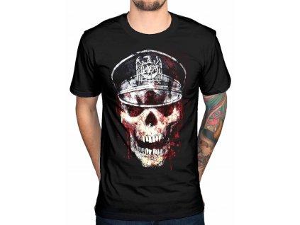 Pánske tričko Slayer SKULL HAT (Veľkosť XXL)