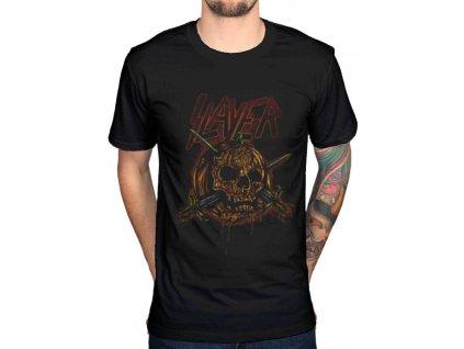 Pánske tričko Slayer Skull Pumpkin (Veľkosť XXL)