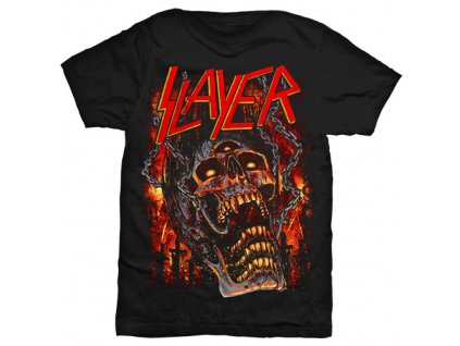 Pánske tričko Slayer Meat hooks (Veľkosť XXL)