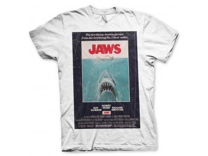 Pánske tričko Jaws Vintage Original Poster