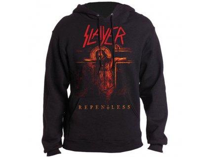 Pánska mikina Slayer REPENTLESS CRUCIFIX (Veľkosť XL)