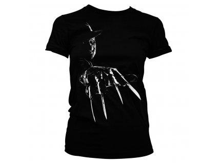 Dámske tričko Freddy Krueger