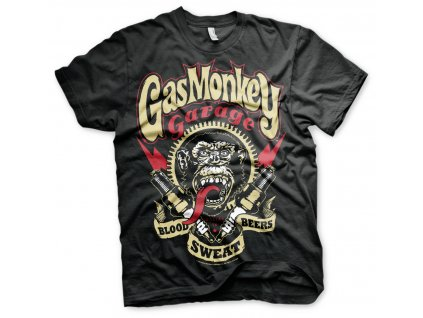 Pánske tričko Gas Monkey Garage - Spark Plugs