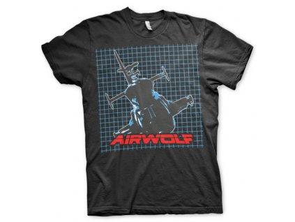 Airwolf Pattern T-Shirt