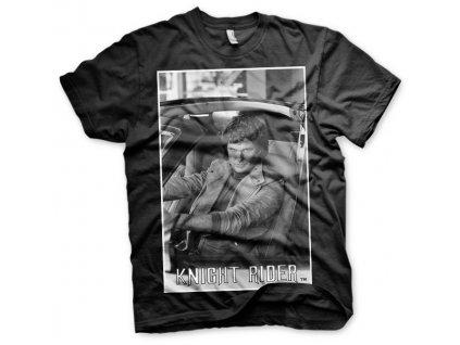 Pánske tričko Hasselhoff In Knight Rider