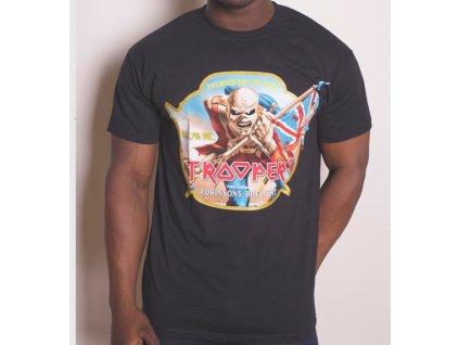 Pánske tričko Iron Maiden Trooper (Veľkosť XXL)
