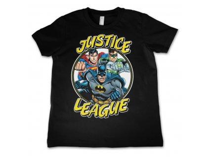 Detské tričko Justice League Team