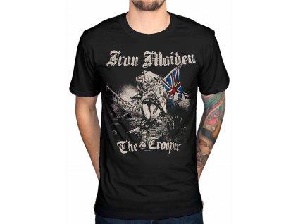 Pánske tričko Iron Maiden SKETCHED TROOPER (Veľkosť XXL)