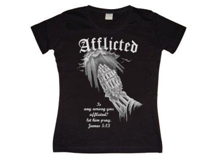 Dámske tričko Afflicted