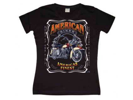Americas Finest Motorcycles Girly T-shirt