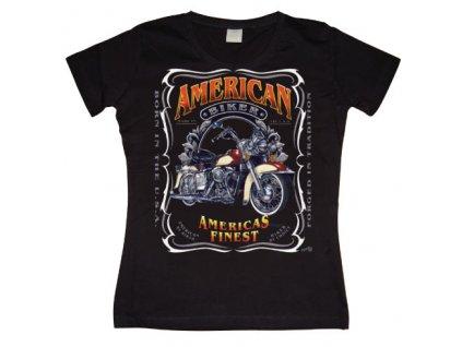 Dámske tričko Americas Finest Motorcycles